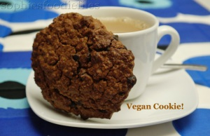 Vegan coconut chocolate chip cookies!