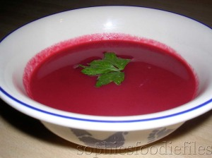 a tasty beetroot soup!