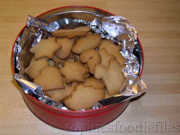 Sophie's festive speculaas cookies!