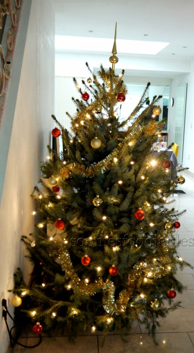 My lovely decorated Christmas Tree!
