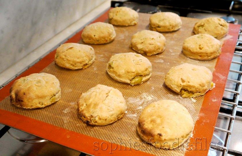 Tasty vegan spiced spelt savoury scones!