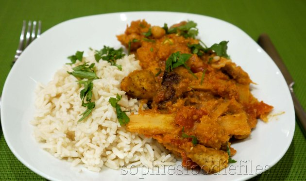 Sophie's easy vegan & Gf curry! MMM!