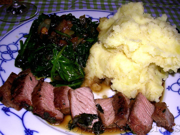 A tasty spring lamb dish!