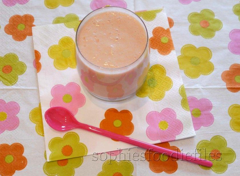 Tasty vegan boozy smoothy!