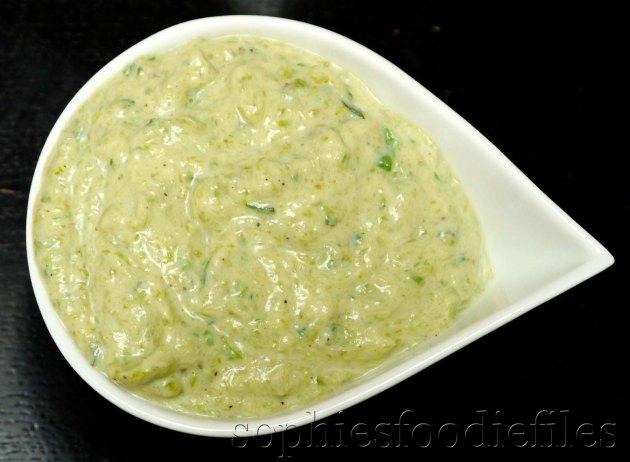 A divine healthy green asparagus silken tofu sauce!