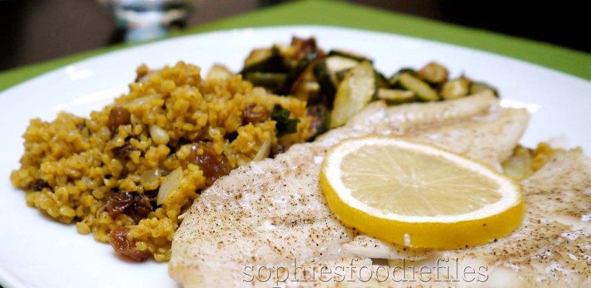 A divine & tasty healthy dinner! :) Yummm!
