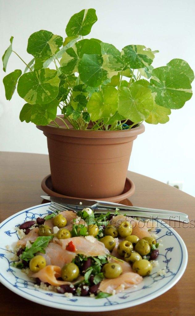 A delightful Sophie's salad!