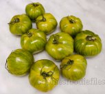 Green Heirloom zebra tomatoes!
