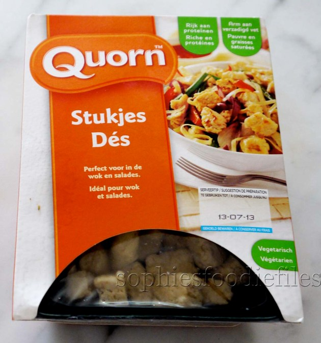 Vegetarian low-fat & full of fiber & protein quorn!