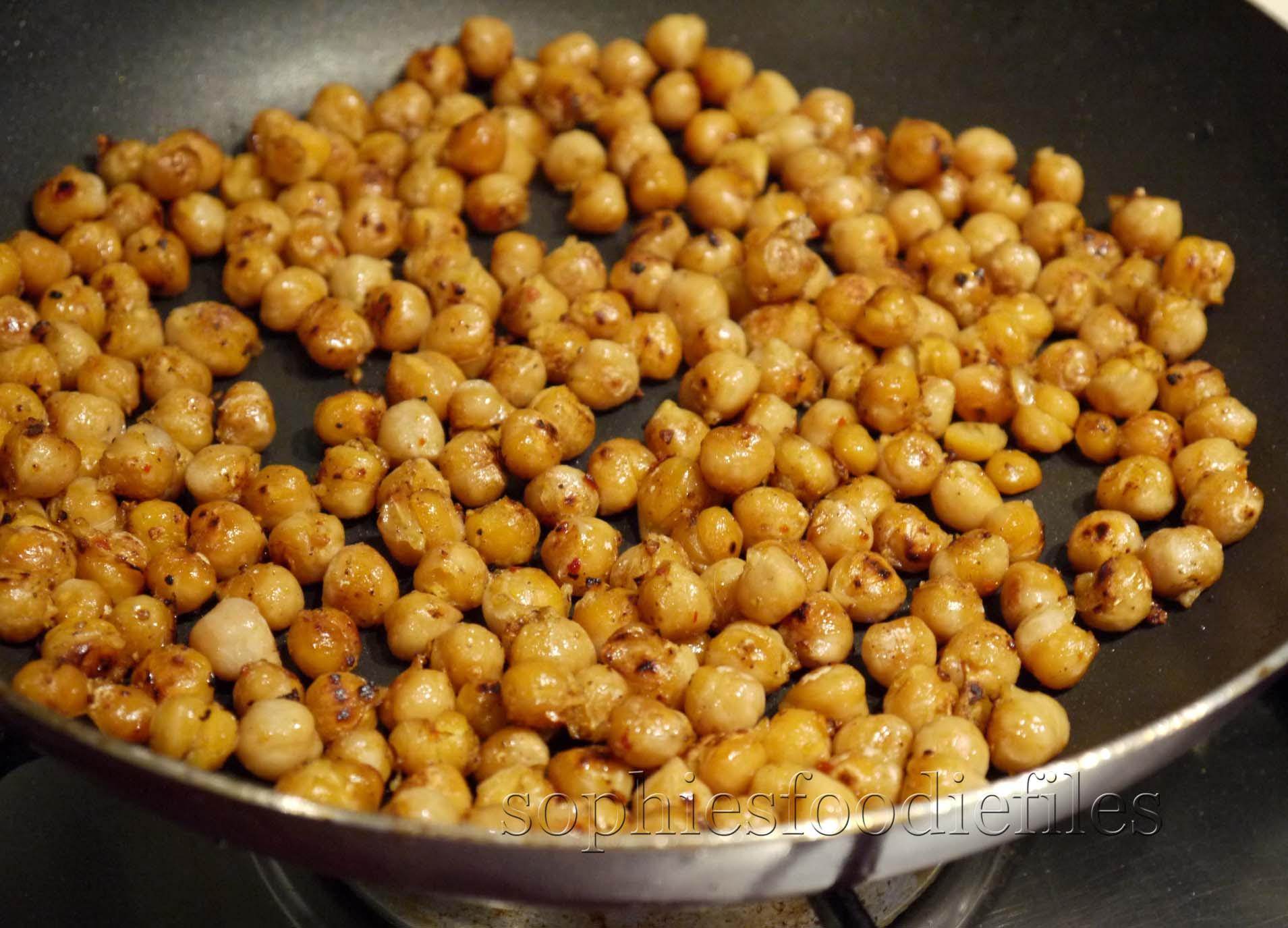 ... chickpea salad pan fried chickpea salad with curried yogurt pan fried