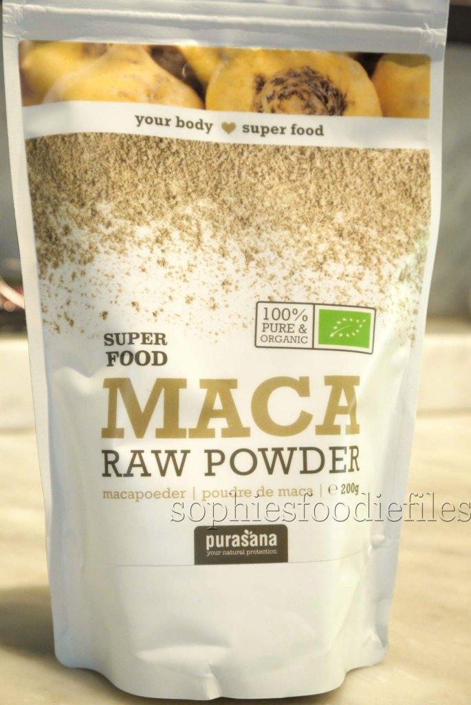 Superfood: Raw maca powder!
