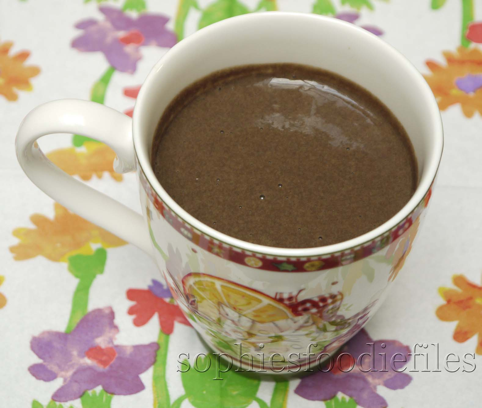 Vegan, Gluten-free hot carob pumpkin drink! I know this is a Christmas ...