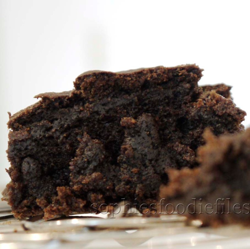 Divine vegan pumpkin carob brownies!