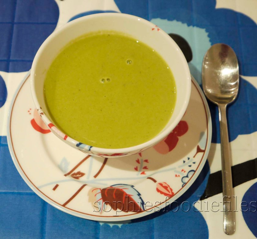 Tasty gluten-free broccoli cheddar soup!