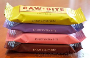 RAW BIte Bars: reviews! :)