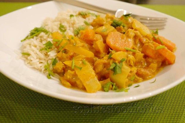 A Divine Vegan, Gluten-Free curry!