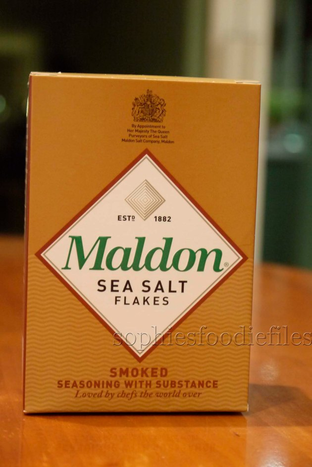 Smoked Maldon Sea Salt!