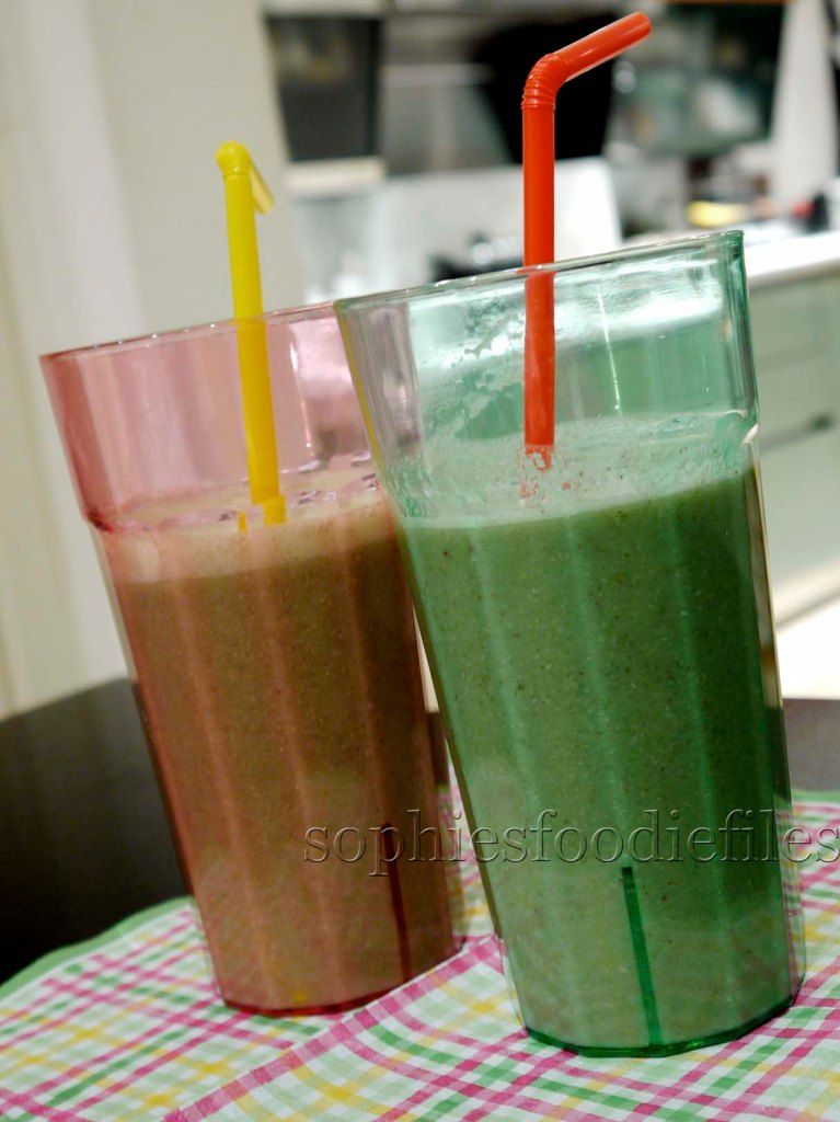 We want Raw Green mean Smoothies!