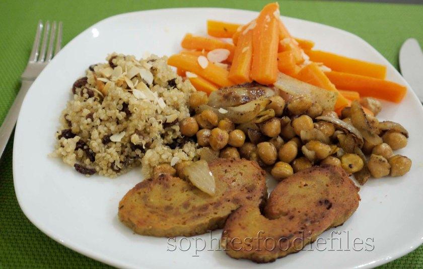 A divine Moroccan inspired vegan dinner!
