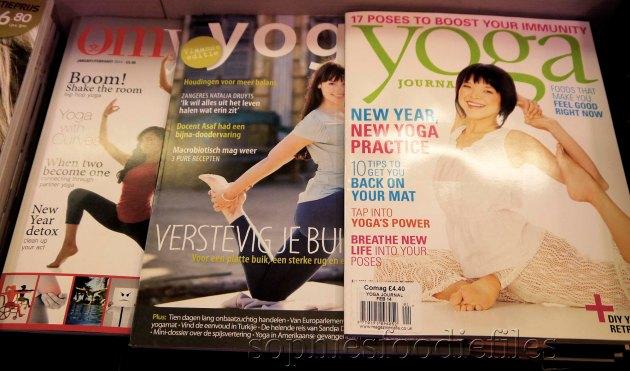 3 cool yoga magazines!