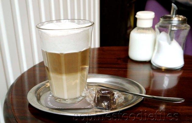 Yummm! A lovely Latte Macchionata with soy milk!