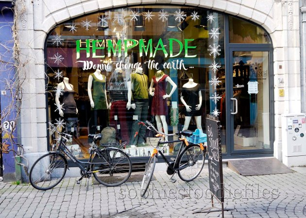 Hemp Made: a cool vegan organic clothing shop, the only one in Leuven!