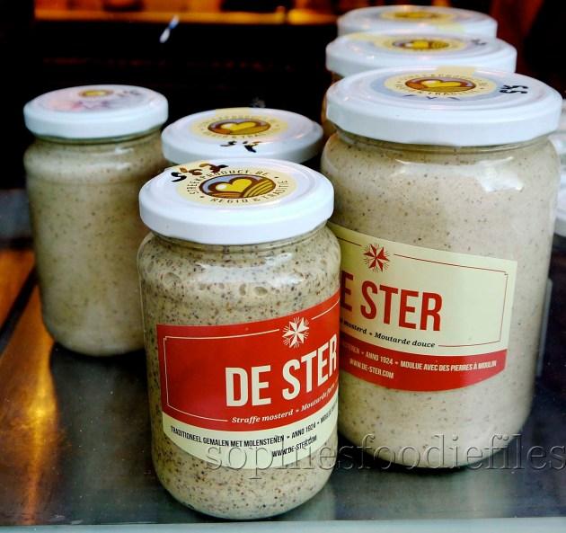 A Famous Regional product, grain mustard & normal milder mustard from De Ster!