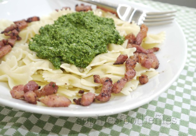 A divine fresh easy pasta Spring dish!