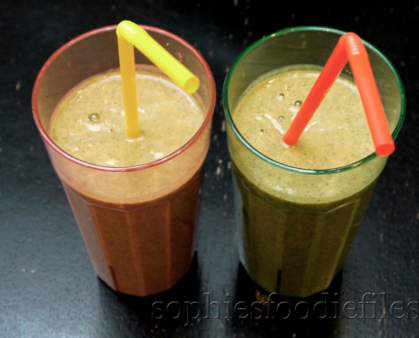 My new morning drinkable breakfast! Vegan + Gluten-Free!