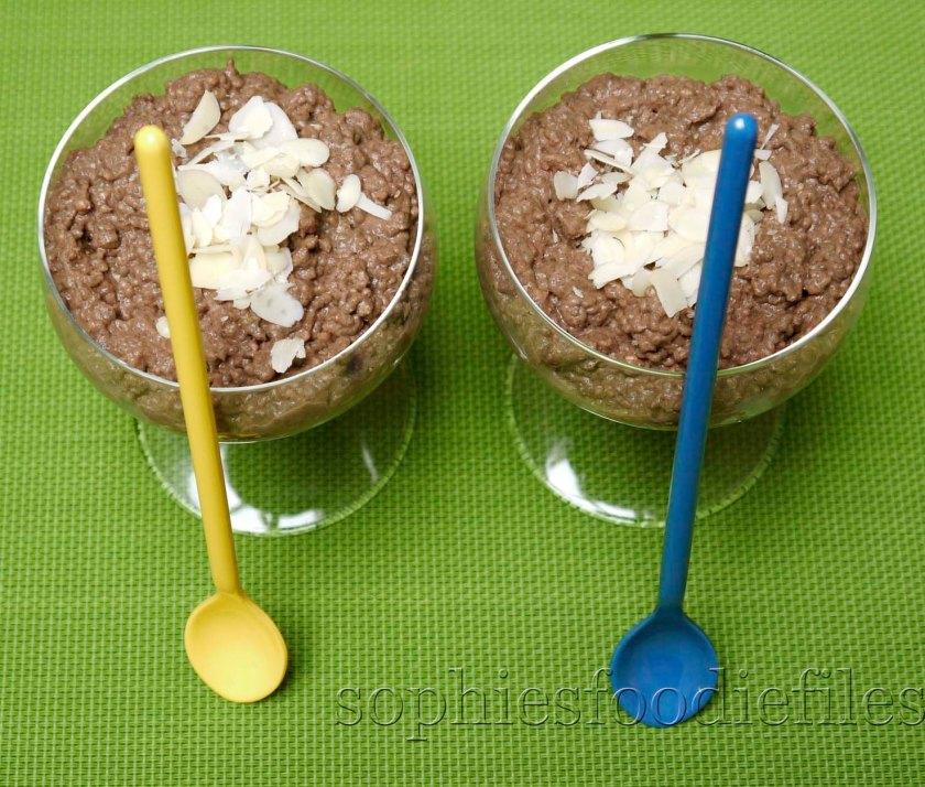 Raw, vegan, Gluten-free power desserts, ready to pop into the fridge!