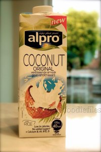 The no-sugar added coconut-rice drink!