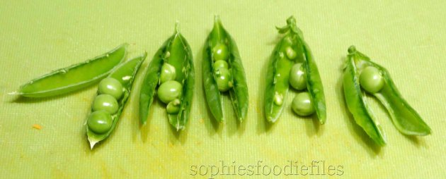 Home grown fresh peas!