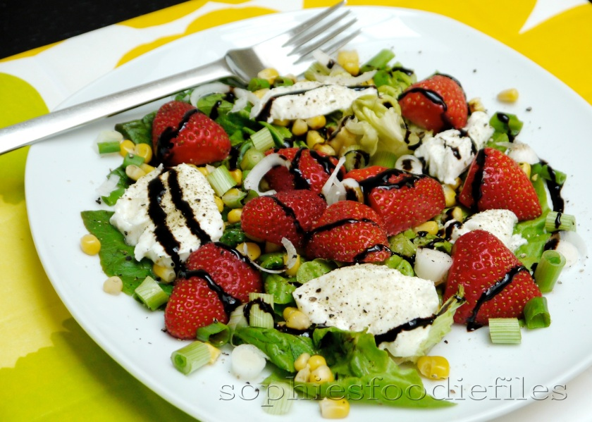 Tasty Seasonal Vegetarian crunchy & creamy salad!