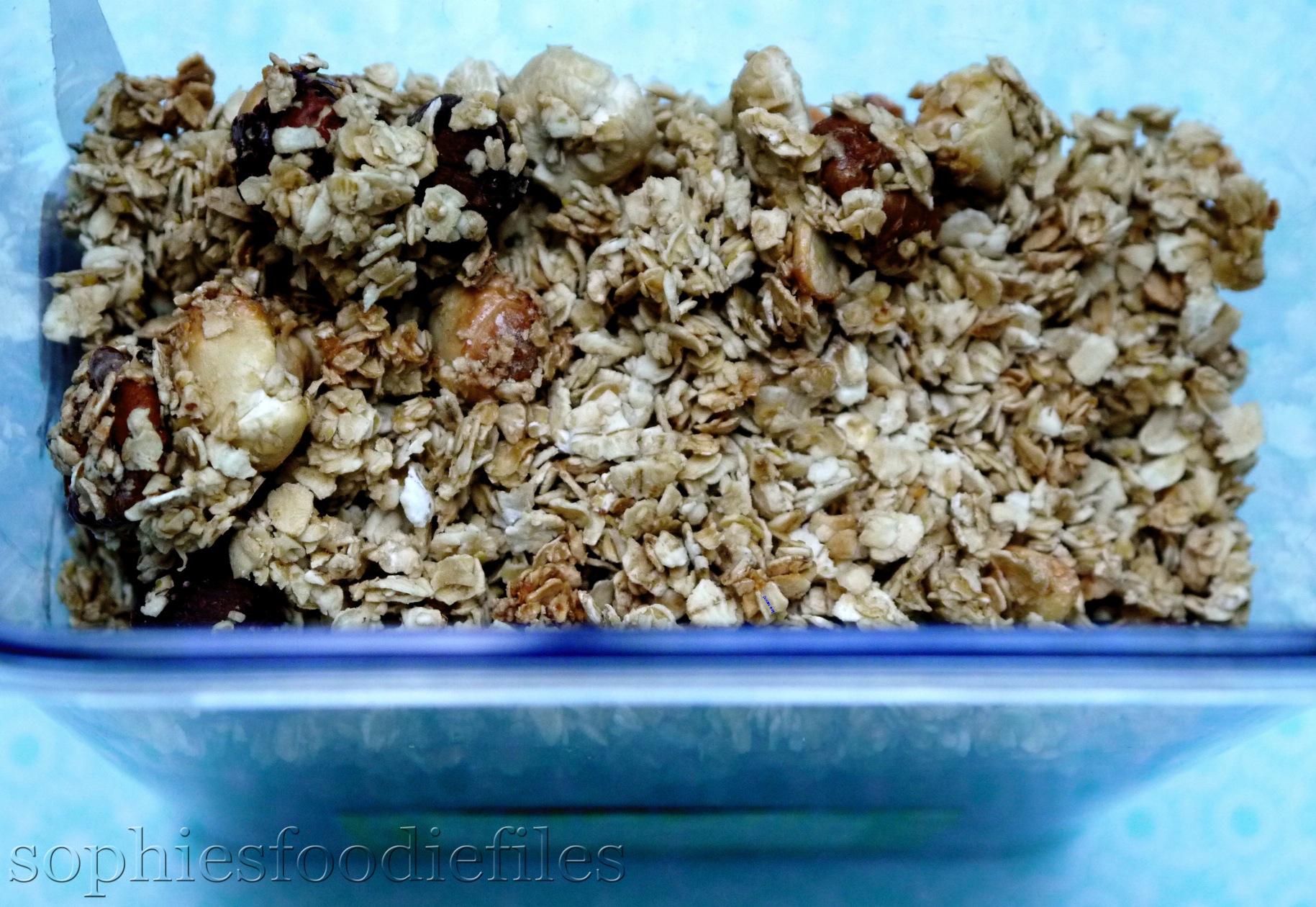 No-oil granola! Vegan & Gluten-free! – Sophie's Foodie Files