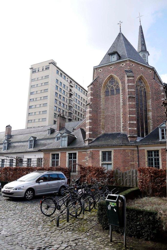 An old hospital besides the Predikheren church!