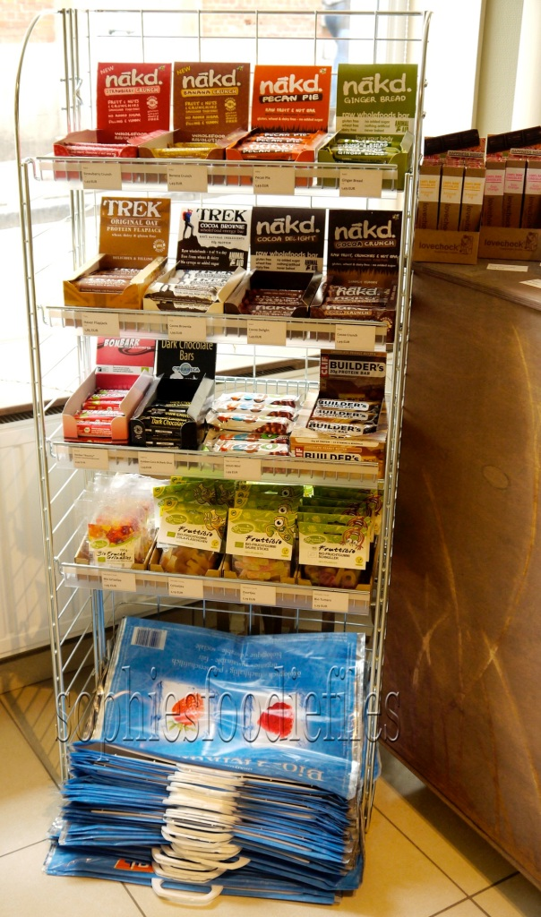 Vegan candies & vegan food bars from o.a. Naked!
