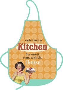 A cool kitchen apron!