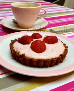 Gluten-free Lactose-Free strawberry tartlets!