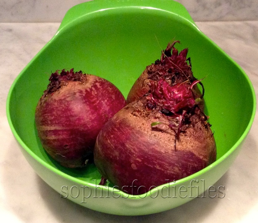 3 big Summer beets, type Bolivar