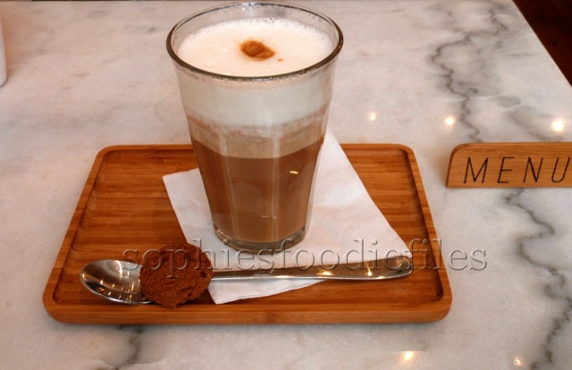 A superb soy café latte!