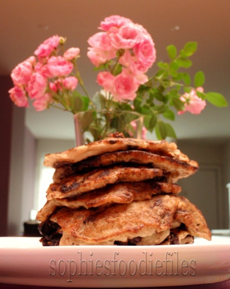 Vegan 5 ingredient pancakes!