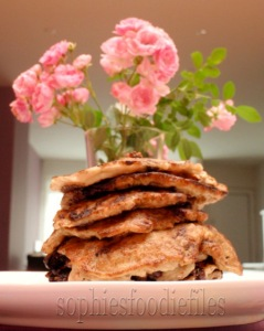 Vegan 5 ingredient pancakes!