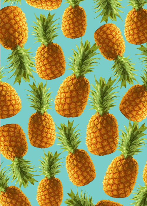Pineapples everywhere!