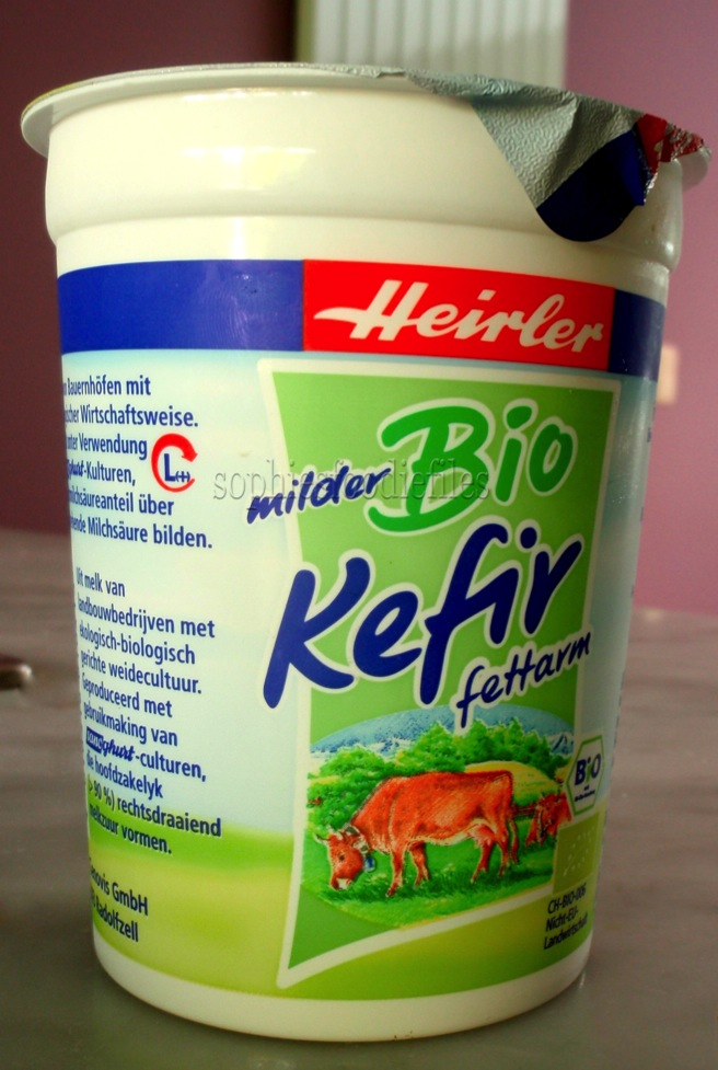 low-fat organic kefir