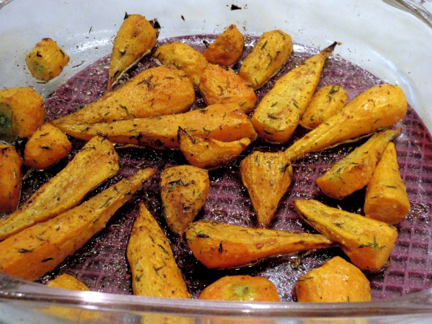 Roasting them brings out that sweet flavour!