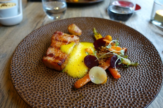 Divine flavours, textures on a plate!
