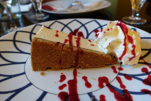 Whiskey cheesecake!
