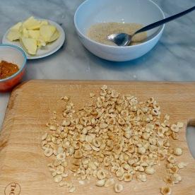 Filling ingredients!